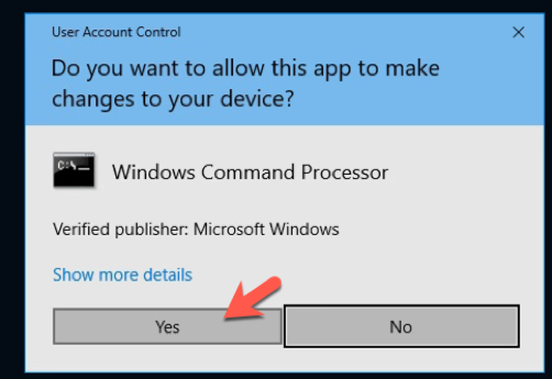 """UAC Prompt Select """"Yes"""""""